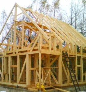 Строим каркасные дома и бани