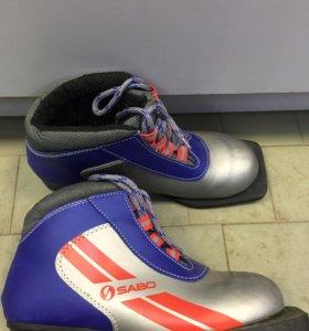 Ботинки лыжные б/у р36