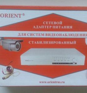 Блок питания для видео наблюдения PA-08, 4 выхода