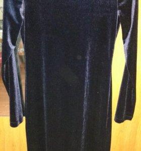 Платье новое велюрлвое