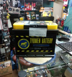 Аккумулятор Tyumen Battery 60 a.h обратный