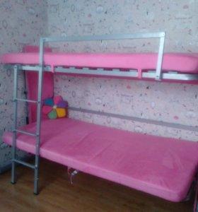 Диван-кровать 2х ярусный(мебель - трансформер)