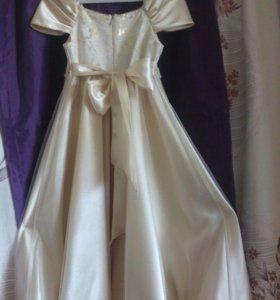Новогодний костюм. Платье