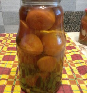 Маринованные домашние  помидорки!