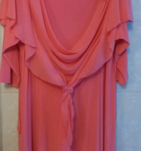 Платье вечернее,в пол,плотный стрейч,одето 1раз,