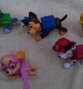 Фигурки щенячий патруль