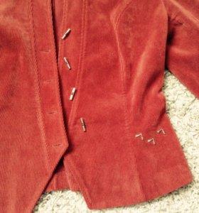 Вельветовый пиджак