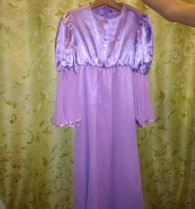Платье на девочку 8-10 лет.