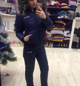 Новый теплый зимний костюм