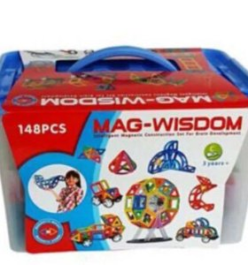Магнитный конструктор Mag wisdom 148 деталей