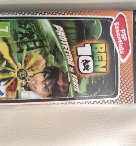 Игра для PSP Ben 10