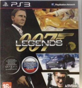 Диск PS3 Agent 007