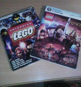 Атнология LEGO. И Антология LEGO Властелин колец.