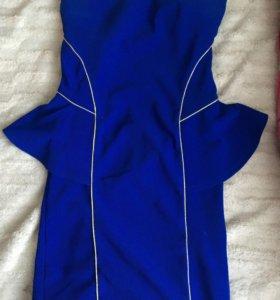 Платье с баской tally weijl