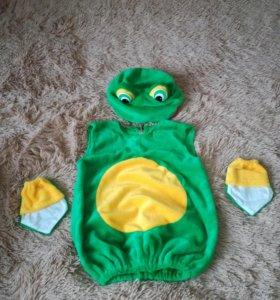 Новогодний костюм лягушки