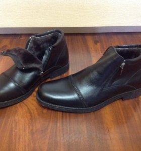 Ботинки зима,новые р39