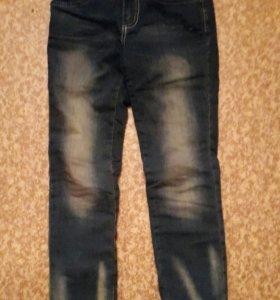 Утепленые джинсы на девочку