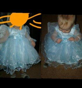 Платье 68-74