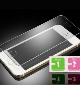Защитные стекла для iPhone 5,5s,6,6s,6plus,7,7plus