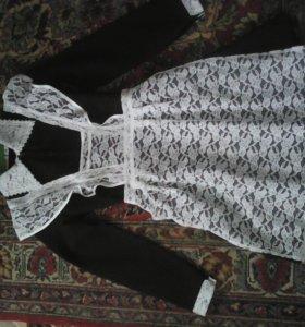 Школьная форма(платья с фартуком )