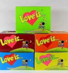 Жевачки Love is..