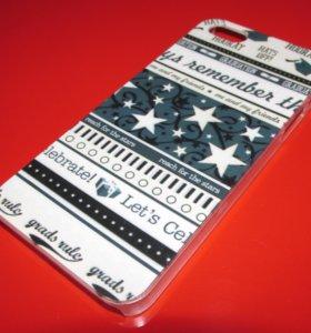 Пластиковый чехол Stars для iphone 5/5S/SE
