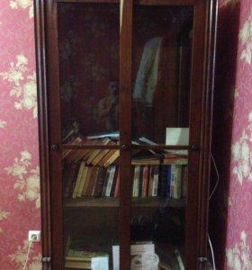 Шкаф д/книг. Очень старый.