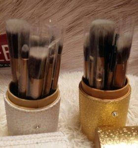MAC профессиональный набор кистей для макияжа.