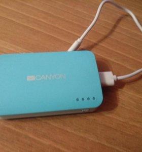 Портативный зарядник для телефона Canyon