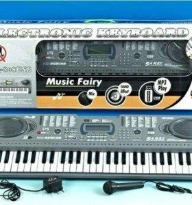 Детский обучающий синтезатор MQ-808 USB