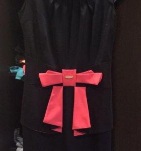 Платье BZR с баской