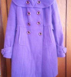 Пальто осеннее, утепленное