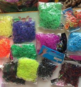 Резинки длч плетения 550-1000шт