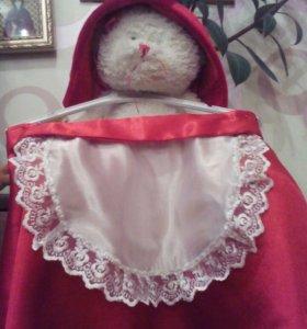 Новогодний костюм.Красная шапочка.