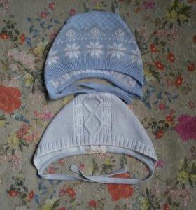 Шертяные шапочки размер 40-42