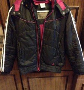 Куртка Adidas размер 152 осенняя