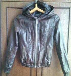 Куртка кожзам, женская