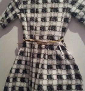 Платье новое на девочку на 8-10 лет
