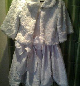 Праздничное платье и болеро