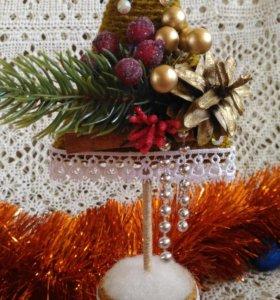 Новогодняя интерьерная ёлочка