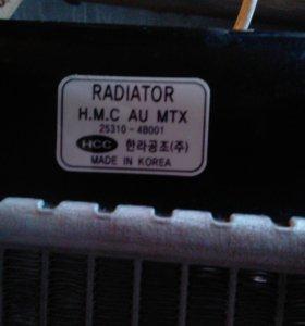 Радиатор Хендей портер