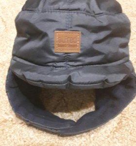 Зимняя шапка ушанка болоньевая