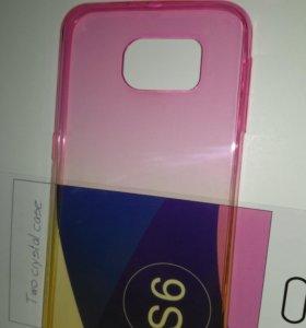 Чехол силиконовый для Samsung galaxy S6