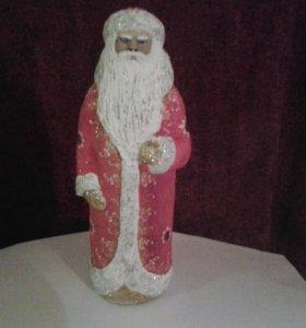 Дед мороз,35 см,ручная работа