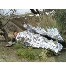 Термо одеяло спасательное