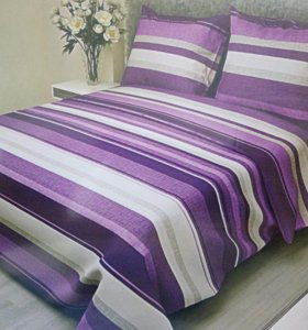 КПБ 2-х спальный, Бязь (ткань), 100% хлопок