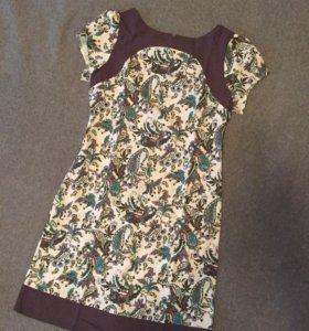Платье лён натуральный