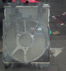 Радиатор ниссан куб z10 2002г.