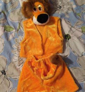 Продам новогодний костюм львёнок