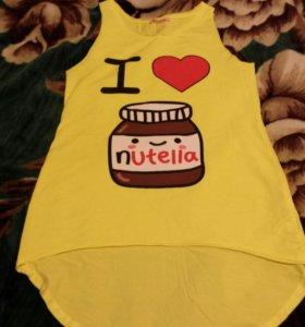 Майка I ♡ nutella